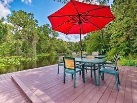 Waterfront Bungalow Studio On Rock Springs River! photos Exterior