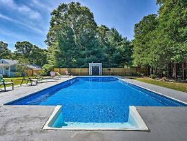 East Falmouth Home With Pool- Near Downtown And Beach photos Exterior