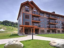 Lux Penthouse-Level Ski-In/Out Cranmore Mtn Condo! photos Exterior