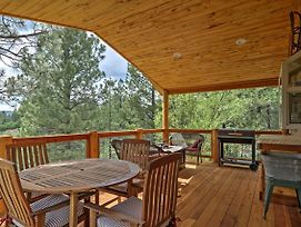 Pagosa Springs Home With Covered Deck On Greenbelt! photos Exterior