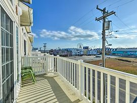Wildwood Townhome: Walk To Boardwalk + Beach! photos Exterior