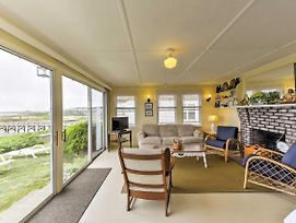 Waterfront West Yarmouth Cottage W/ Deck & Views! photos Exterior