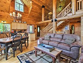 Sevierville Cabin With Hot Tub, Deck, And Mtn Views! photos Exterior