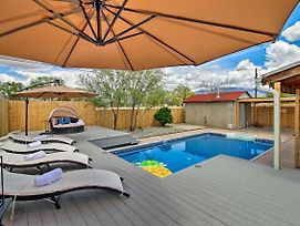 Luxe Home W/Pool- 4 Mi To Abq Balloon Fiesta Park photos Exterior