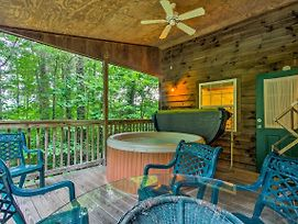 Bryson City 'Gone Biking' Cabin With Porch And Spa photos Exterior