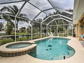 Canalfront Cape Coral Home W/ Private Dock! photos Exterior