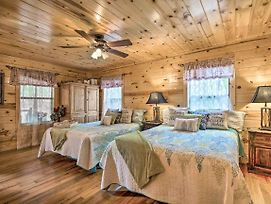 Broken Bow Cabin W/Hot Tub & Fire Pit By Lake photos Exterior