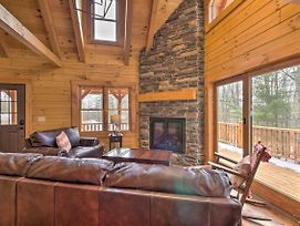 Family-Friendly Warsaw Cabin W/Furnished Deck photos Exterior