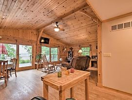 Cozy Amish Country Cabin On Shipshewana Lake! photos Exterior