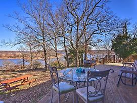 20-Acre Waterfront Keystone Lake Home W/Trail photos Exterior