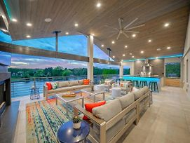Lakefront Smart Home With Luxe Multi-Level Deck! photos Exterior