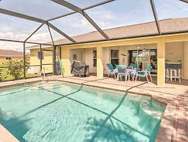 Cape Coral Family Home W/Grill, Pool & Ac! photos Exterior