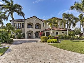 Lux Cape Coral Home With Pool, Lanai And Boat Slip photos Exterior