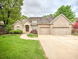 Bentonville Home With Pool Table, 2 Mi To Downtown! photos Exterior