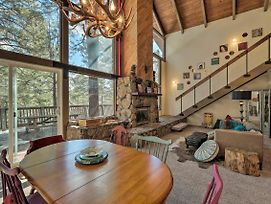 Flagstaff Cabin W/ Large Deck & Fenced Yard! photos Exterior
