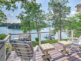 Lafollete Home With Norris Lake Boathouse And Dock photos Exterior