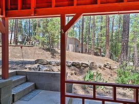 Secluded Ruidoso Cabin W/ Grill & Fireplace! photos Exterior
