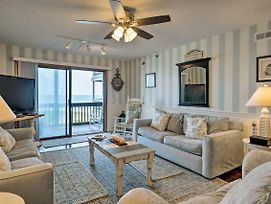 N. Topsail Beach Oceanfront Condo W/ Pool! photos Exterior
