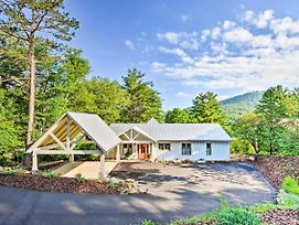 New-Luxury Lakefront Hiawassee Cottage W/Boat Dock photos Exterior