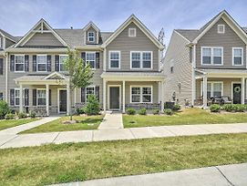 Morrisville Townhome~13 Mi To Duke University photos Exterior