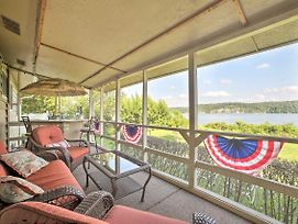 New-Lakefront Rogers Home W/Hot Tub By Boat Launch photos Exterior