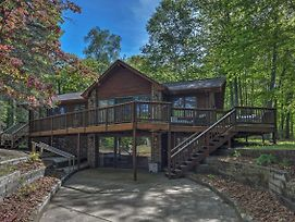 Waterfront Eagle River Lake Home W/ Boat Dock photos Exterior