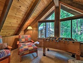Cabin With Bbq Deck, Near Big Trees State Park! photos Exterior
