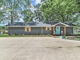 Waterfront Lake Sinclair Home W/ Boat Dock! photos Exterior