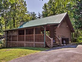 Cabin W/Deck & Hot Tub, 3 Mi To Pigeon Forge! photos Exterior