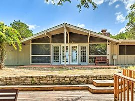 Lago Vista Home With Deck, Fire Pit And Lake Views photos Exterior