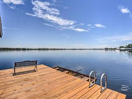 Waterfront Lake Placid Home W/ Private Dock! photos Exterior