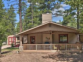 Coconino National Forest Home W/Deck & Yard! photos Exterior