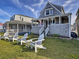 Oceanfront Marshfield Home W/ Porch + Grill! photos Exterior