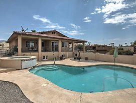Gorgeous Hilltop Lake Havasu Home W/Private Pool photos Exterior