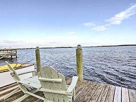 'Serenity By The Sea' Home W/Dock - 6 Mi To Beach! photos Exterior
