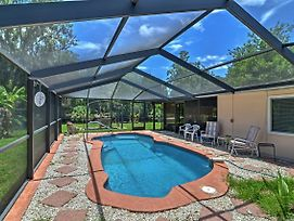 Waterfront Crystal River House W/Screened-In Pool! photos Exterior