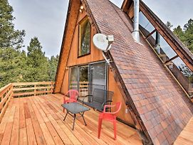 A-Frame Cabin W/Mtn Views - 4 Mi To Cripple Creek! photos Exterior