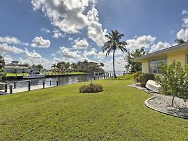 New! Waterfront Port Charlotte Cottage W/ Dock! photos Exterior