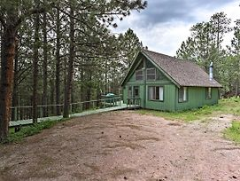 Black Hills Cabin W/ Deck Near Mt. Rushmore! photos Exterior