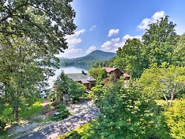 New! Luxury Lake Santeetlah Home W/Wraparound Deck photos Exterior
