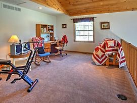 Waterfront Vandalia House With Dock On Donnell Lake! photos Exterior