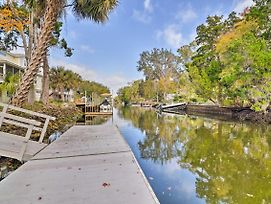 Canal Front Home W/ Dock & Access To Crystal River photos Exterior