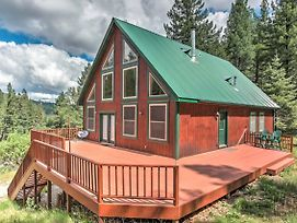Rustic Cloudcroft Cabin On 10 Acres W/Grill & Deck photos Exterior