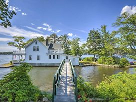 Lakefront Hopatcong House W/ Large Porch & Dock! photos Exterior