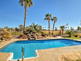 Lovely Lake Havasu Home W/Pool On Golf Course photos Exterior