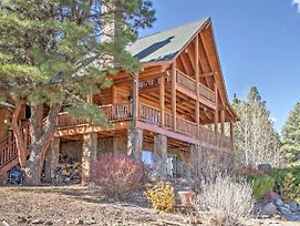 Flagstaff Cabin W/Decks, Alpine Views & Pool Table photos Exterior