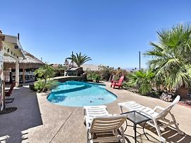 Tropical Lake Havasu House W/Pool & Tiki Bar! photos Exterior