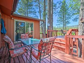 Private Pine Cabin W/ Deck & Meadow Views! photos Exterior