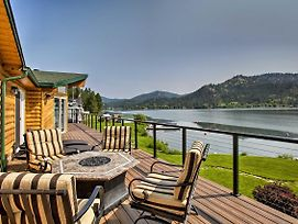 Updated Lakefront Home W/ Deck On Long Lake! photos Exterior