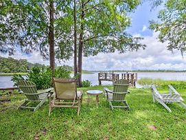 Lakefront Home W/ Dock - 7 Miles To Downtown! photos Exterior